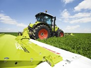 Claas Disco mower conditioner combination