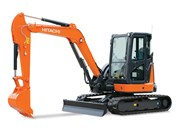 Hitachi ZX55U-5 Mini Excavator