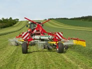 Poettinger TOP C twin rotor rakes