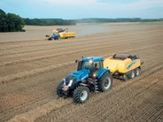 New Holland T8 series tractors