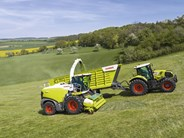 Claas Cargos 760-740 forage transport wagons