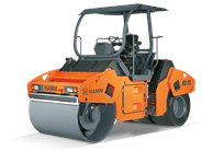 HAMM HD 70K combination roller