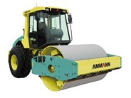 Ammann ASC 110 PD single drum padfoot compactor