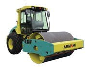 Ammann ASC 130 PD single smooth drum compactor