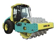 Ammann ASC 150 PD single drum padfoot compactor