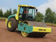 Ammann ASC 150 D single smooth drum compactor