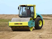 Ammann ASC 170 D single smooth drum compactor