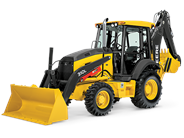 John Deere 310L backhoe loader