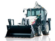 Terex TLB890 backhoe loader