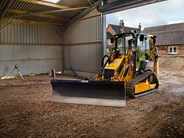 JCB 1CXT tracked backhoe loader