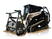 Terex PT-110 Forestry compact track loader