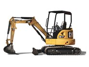Caterpillar 303E CR mini excavator