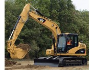 Caterpillar 312D / DL excavator