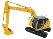 Kato HD513MR-6 excavator