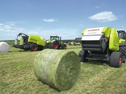 Claas Rollant 455 round balers