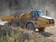 Caterpillar 735C Articulated Dump Truck
