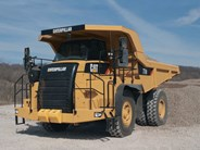 Caterpillar 770 rigid dump truck