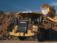 Caterpillar 772 rigid dump truck