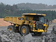 Caterpillar 773G rigid dump trucks