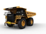 Caterpillar 777E rigid dump truck