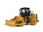 Caterpillar 815K soil compactor