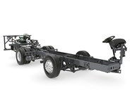 Volvo B9TL bus chassis