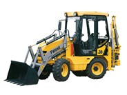 Paload PB130 backhoe loader