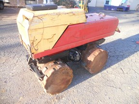 dynapac lp8500 trench roller 503931