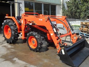 kubota l4508dt with 4 in 1 fel 522883