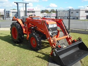 kubota l3408dt with 4 in 1 fel 522887