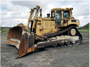caterpillar d8n dozer 748702