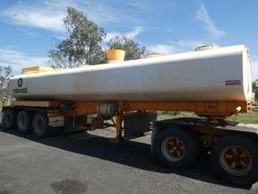 tristar industries tri axle water tanker 785687