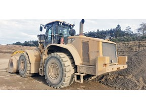 caterpillar 980h wheel loader 803273