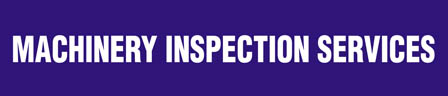 Machinery Inspection Services