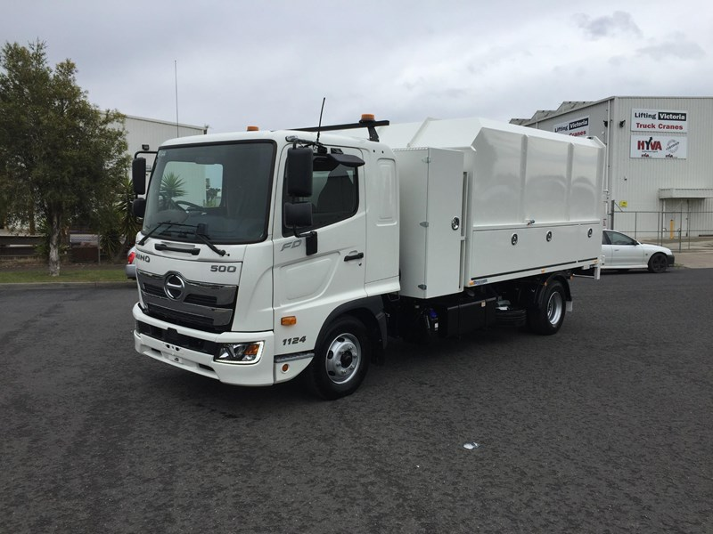 2020 HINO 500 SERIES - FD 1124