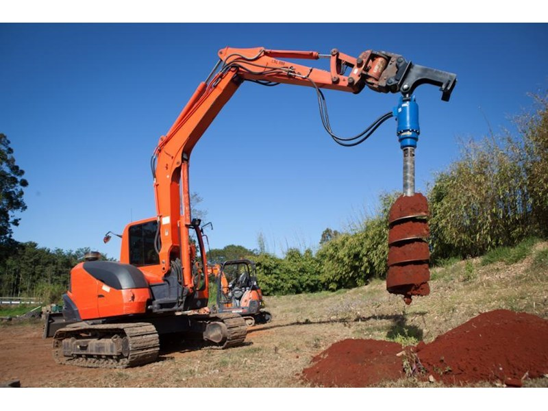 auger torque auger drive unit. suit 8t to 13t excavators [hi flow] [10000] [attaug] 235749 006