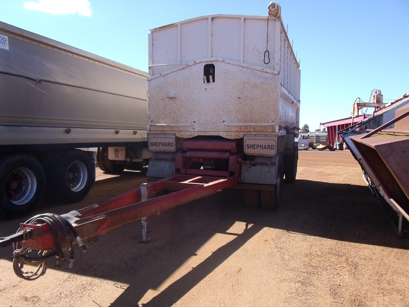 shephard dog tipper trailer 223698 002