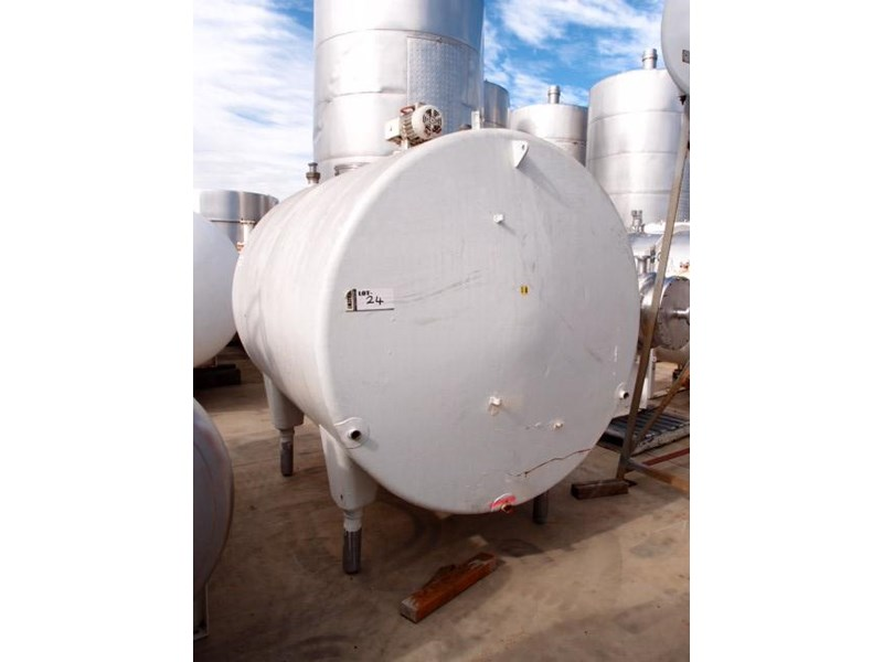 stainless steel mixing tank 4,650lt 218686 002