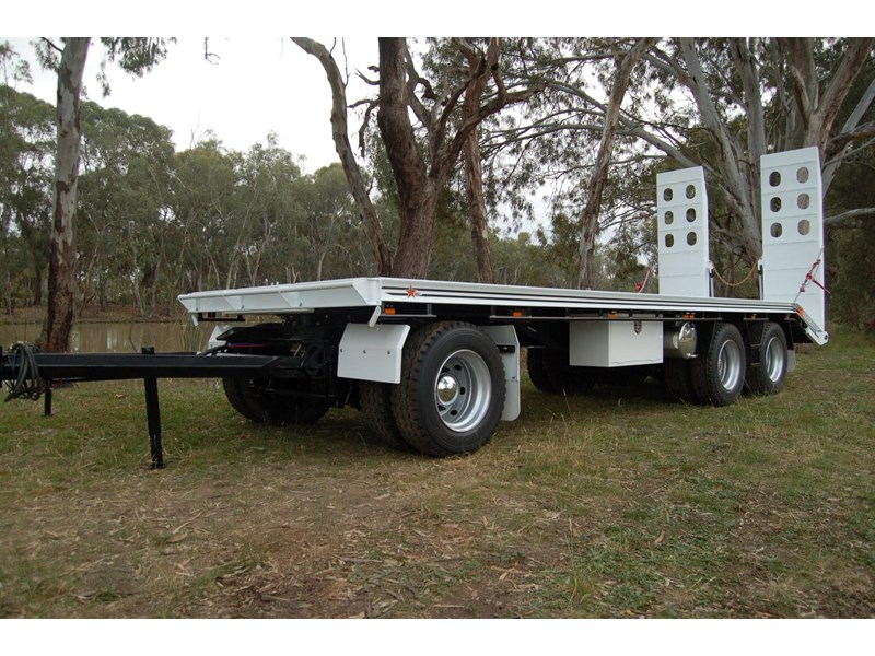 northstar transport equipment tri axle plant dog trailer 63090 011
