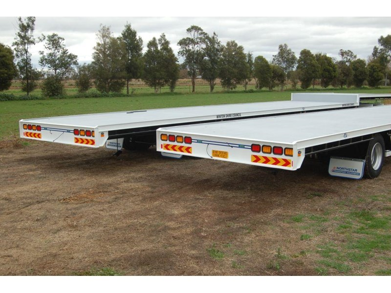 northstar transport equipment 2019 2 axle dog trailer 63092 001