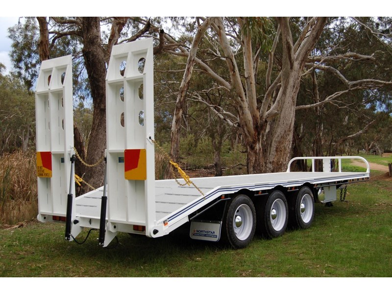 northstar transport equipment tri axle tag trailer 231065 005