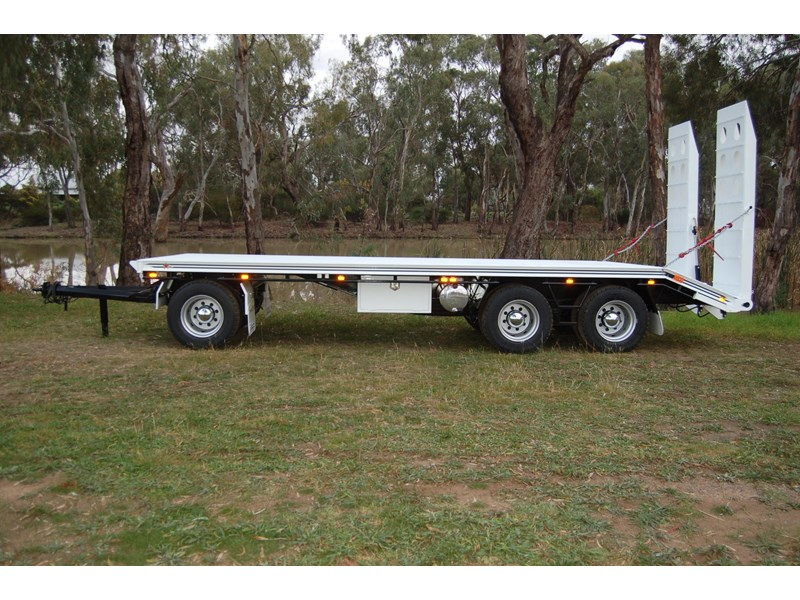 northstar transport equipment tri axle plant dog trailer 63090 001