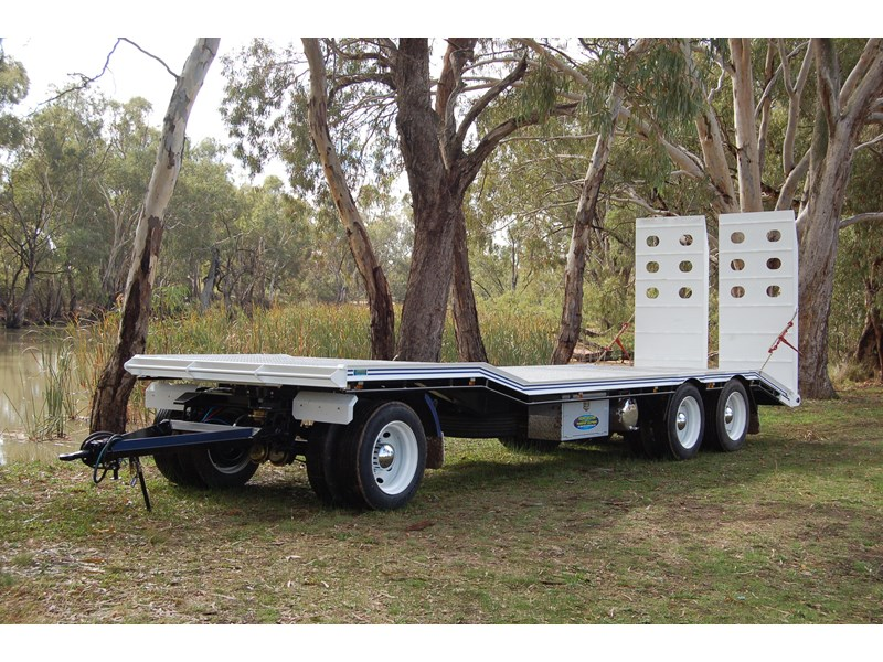 northstar transport equipment tri axle plant dog trailer 63090 003