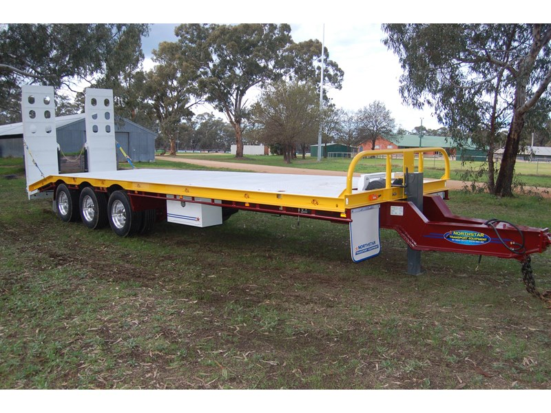 northstar transport equipment tri axle tag trailer 231065 018
