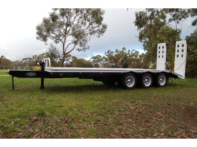 northstar transport equipment tri axle tag trailer 231065 010