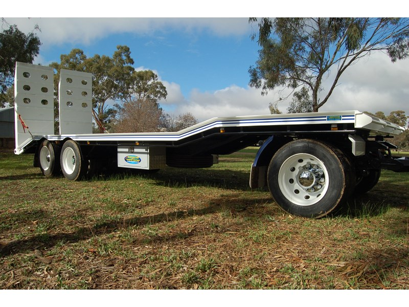 northstar transport equipment tri axle plant dog trailer 63090 007