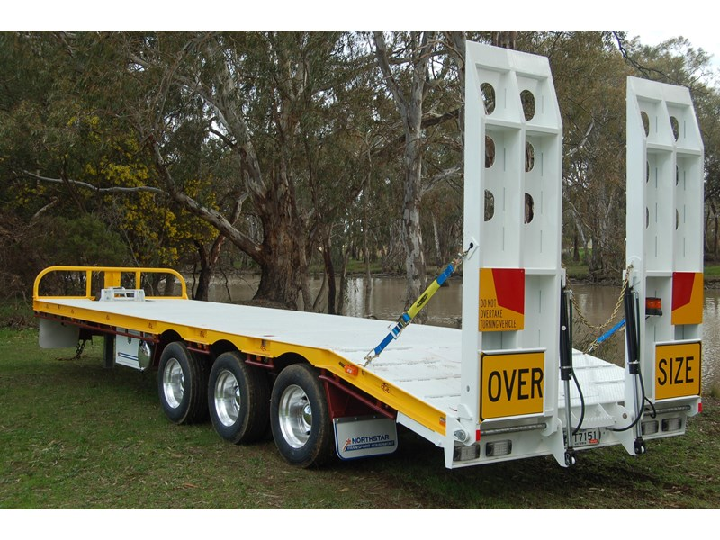 northstar transport equipment tri axle tag trailer 231065 017