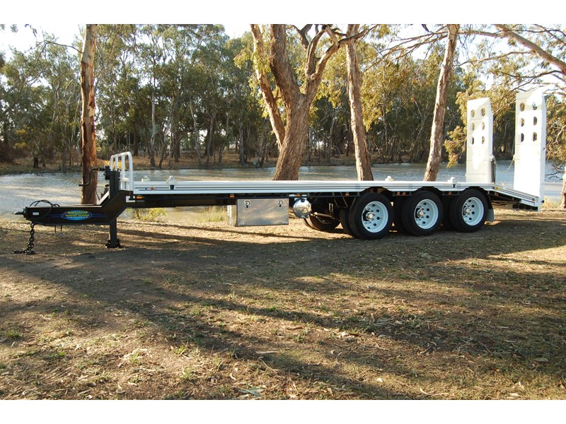 northstar transport equipment tri axle tag trailer 231065 013