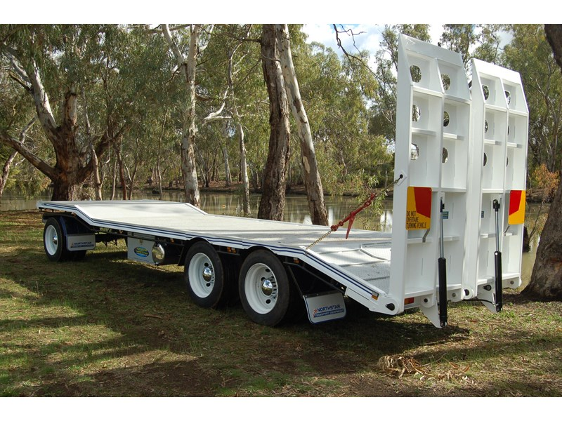 northstar transport equipment tri axle plant dog trailer 63090 008