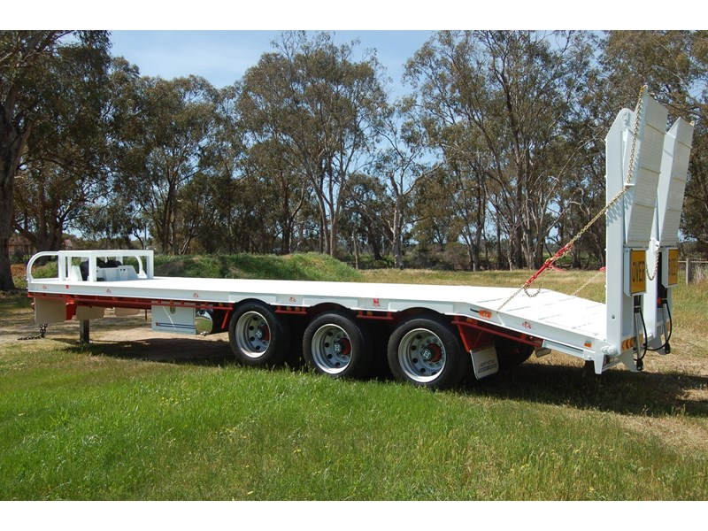 northstar transport equipment tri axle tag trailer 231065 020